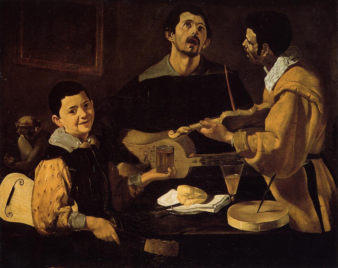 número 2- Los tres músicos (Velázquez)